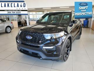 New 2021 Ford Explorer ST  - Leather Seats - Sunroof - $401 B/W for sale in Prince Albert, SK