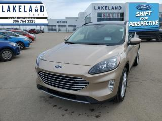New 2021 Ford Escape Titanium Hybrid AWD  - Sunroof - $246 B/W for sale in Prince Albert, SK