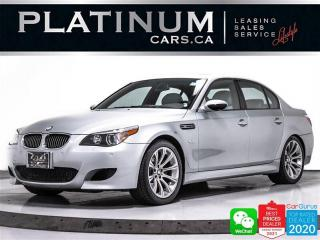 Used 2006 BMW M5 V10, 500HP, SMG, NAV, SUNROOF, HEATED, LIGHTS PKG for sale in Toronto, ON