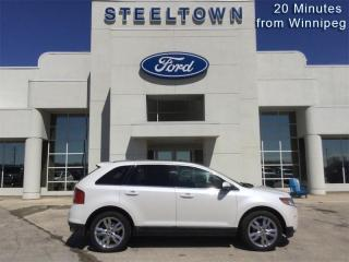 Used 2014 Ford Edge LIMTED  - Leather Seats -  Bluetooth for sale in Selkirk, MB