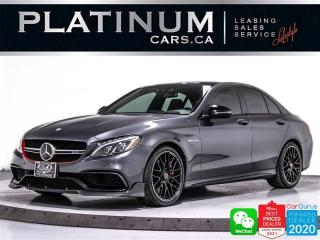 Used 2016 Mercedes-Benz C-Class AMG C63 S, 503HP, SEDAN, DISTRONIC PLUS, NIGHT PKG for sale in Toronto, ON