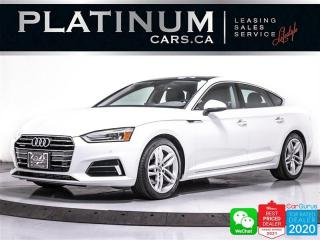 Used 2019 Audi A5 Sportback 2.0T quattro, AWD, CAM, SUNROOF, APPLE/ANDROID for sale in Toronto, ON