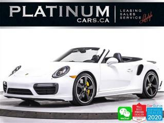 Used 2017 Porsche 911 Turbo S , CONVERTIBLE ,580HP,CARBON CERAMIC BRAKES for sale in Toronto, ON