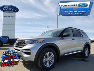New 2021 Ford Explorer XLT High Package  - Activex Seats - $337 B/W for sale in Fort St John, BC