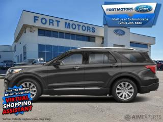 New 2021 Ford Explorer Limited  - Sunroof - Leather Seats - $374 B/W for sale in Fort St John, BC