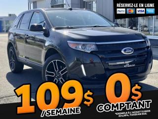 Used 2013 Ford Edge SEL   AWD  ''V6''  CAMERA for sale in Ste-Marie, QC