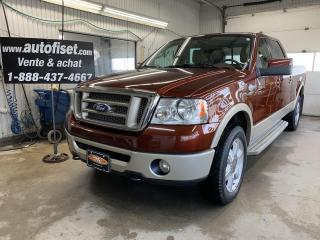 Used 2007 Ford F-150 4WD SuperCrew 139  King Ranch for sale in St-Raymond, QC