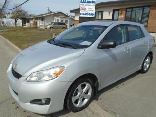 Used 2013 Toyota Matrix for sale in Ancienne Lorette, QC