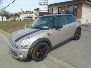 Used 2013 MINI Cooper HARDTOP for sale in Ancienne Lorette, QC
