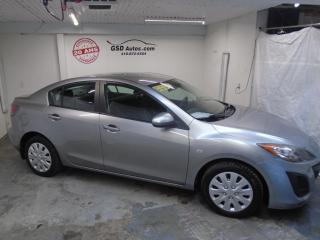 Used 2010 Mazda MAZDA3 GX for sale in Ancienne Lorette, QC