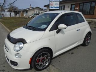Used 2013 Fiat 500 Sport for sale in Ancienne Lorette, QC