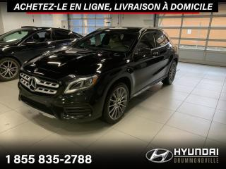 Used 2018 Mercedes-Benz GLA 250 4MATIC + GARANTIE + AMG + NAVI + WOW !! for sale in Drummondville, QC