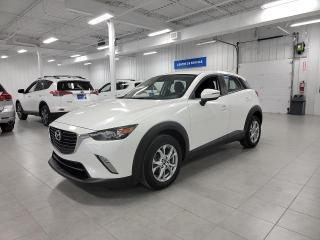 Used 2018 Mazda CX-3 GS - CAMERA + S. CHAUFFANTS + JAMAIS ACCIDENTE !!! for sale in St-Eustache, QC