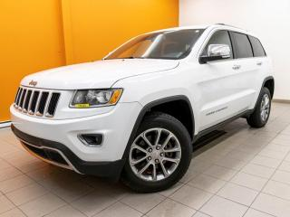 Used 2016 Jeep Grand Cherokee LIMITED 4X4 TOIT SIÈGES / VOLANT CHAUFFANT *CUIR* for sale in St-Jérôme, QC