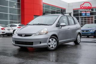 Used 2008 Honda Fit DX-A 12446A TQ GRIS for sale in Terrebonne, QC