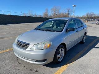 Used 2005 Toyota Corolla 4dr Sdn CE Manual for sale in Laval, QC