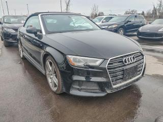Used 2017 Audi A3 CONVERTIBLE TECHNIK QUATTRO CUIR GPS MAGS for sale in St-Hubert, QC