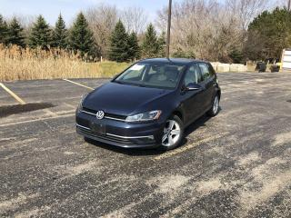 Used 2018 Volkswagen Golf COMFORTLINE for sale in Cayuga, ON