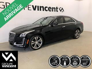 Used 2017 Cadillac CTS LUXURY 3.6L AWD CUIR GPS TOIT** GARANTIE 10 ANS ** Berline de luxe à quatre roues motrices! for sale in Shawinigan, QC
