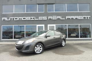 Used 2010 Mazda MAZDA3 TOIT OUVRANT - AUTOMATIQUE - 99 200 km - for sale in Québec, QC