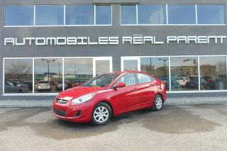 Used 2013 Hyundai Accent - AUTO - 43 546 KM - SIEGES CHAUFFANT -AUX - for sale in Québec, QC