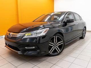 Used 2016 Honda Accord TOURING ALERTES TOIT RÉG ADAPT SIÈGES CHAUFF *NAV* for sale in St-Jérôme, QC