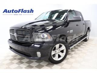 Used 2014 RAM 1500 SPORT CREW-CAB 5.7L *CAMERA *EXTRA CLEAN! for sale in St-Hubert, QC