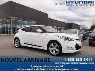 Used 2014 Hyundai Veloster BAS KILO! CAMERA BANCS CHAUFF BLUETOOTH for sale in Sherbrooke, QC