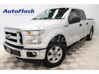 Used 2016 Ford F-150 *XLT *4X4 *SUPER-CREW *V8 *5.0L *TONNEAU-COVER for sale in St-Hubert, QC