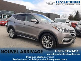 Used 2018 Hyundai Santa Fe LTD AWD 2.0T TOIT PANO CUIR GPS CAMERA for sale in Sherbrooke, QC