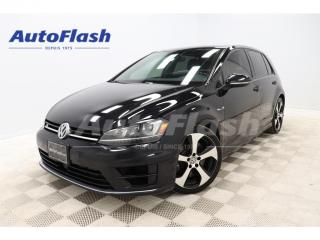 Used 2017 Volkswagen Golf R AWD *2.0T *292HP *DSG *CAMERA *GPS *CRUISE for sale in St-Hubert, QC