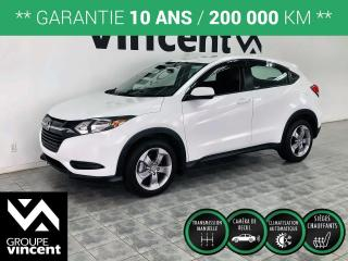 Used 2018 Honda HR-V LX ** GARANTIE 10 ANS ** Très logeable, il conviendra a tout vos besoins! for sale in Shawinigan, QC