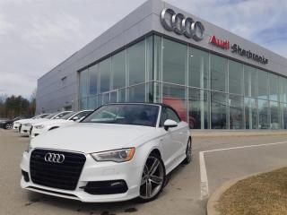 Used 2016 Audi A3 2.0T Technik Sline 19 pouces for sale in Sherbrooke, QC