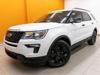 Used 2019 Ford Explorer SPORT 4X4 ALERTES SIÈGES VENTILÉS TOIT PANO *CUIR* for sale in Mirabel, QC