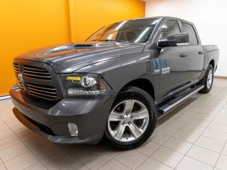 Used 2017 RAM 1500 SPORT CREW 4X4 TOIT SIÈGES VENTILÉS NAV *CUIR* for sale in Mirabel, QC