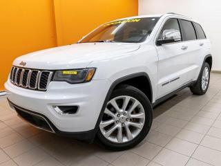 Used 2017 Jeep Grand Cherokee LIMITED 4X4 ALERTES SIÈGES VENTILÉ NAV *TOIT PANO* for sale in Mirabel, QC