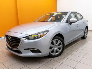 Used 2018 Mazda MAZDA3 GX AUTOMATIQUE BLUETOOTH CAMÉRA *BAS KILOMÉTRAGE* for sale in Mirabel, QC
