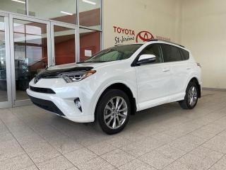 Used 2018 Toyota RAV4 * AWD * PLATINUM * CUIR * TOIT OUVRANT * for sale in Mirabel, QC