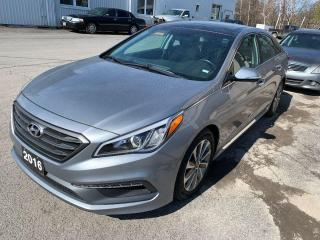 Used 2016 Hyundai Sonata SPORT for sale in Peterborough, ON