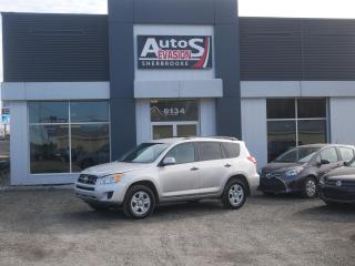 Used 2012 Toyota RAV4 4WD V6 + INSPECTÉ + BLUETOOTH for sale in Sherbrooke, QC