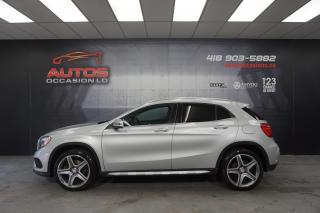 Used 2016 Mercedes-Benz GLA 4MATIC + CUIR JANTES AMG GPS NAVIGATION 127 562 KM for sale in Lévis, QC