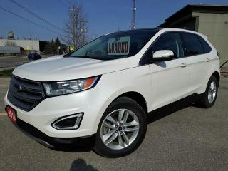 Used 2016 Ford Edge SEL ECOBOOST AWD w/panoramic roof for sale in Cambridge, ON
