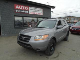 Used 2008 Hyundai Santa Fe GL for sale in St-Hubert, QC