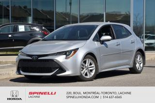 Used 2019 Toyota Corolla Hatchback SE BAS KM AUTO AC MAGS CRUISE BLUETOOTH CAM RECUL++ for sale in Lachine, QC