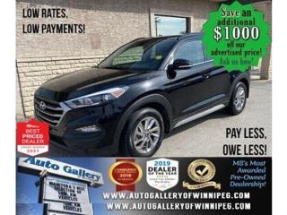 Used 2018 Hyundai Tucson SEL Plus* AWD/Navigation/Heated Seats/SUNROOF for sale in Winnipeg, MB