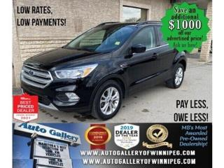 Used 2018 Ford Escape SE* Bluetooth/Heated Seats/SATELLITE RADIO for sale in Winnipeg, MB