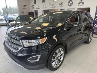 Used 2016 Ford Edge TITANIUM / AWD / TOIT PANO / CUIR / GPS for sale in Sherbrooke, QC
