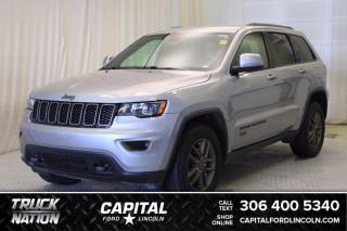 Used 2017 Jeep Grand Cherokee Laredo 75th Anniversary 4WD for sale in Regina, SK
