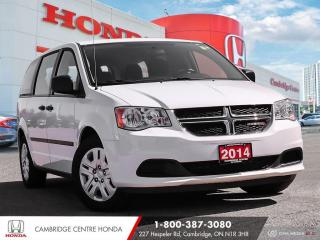 Used 2014 Dodge Grand Caravan SE/SXT JUST REDUCED! for sale in Cambridge, ON