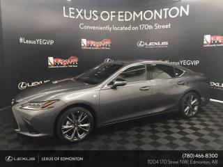 New 2021 Lexus ES 350 F Sport Series 2 for sale in Edmonton, AB